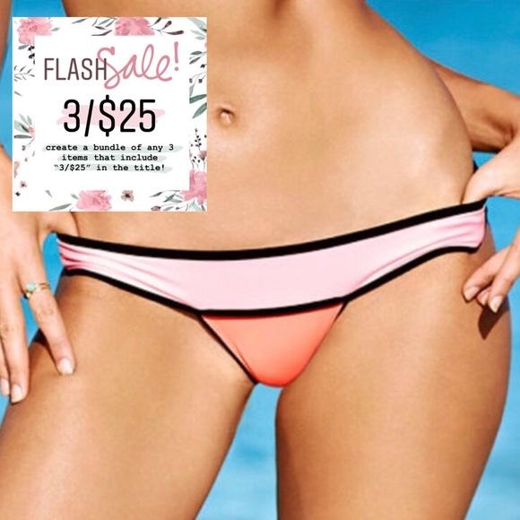 Victoria's Secret Other - 3/$25 Victoria's Secret Neon Color Block Itsy Swim